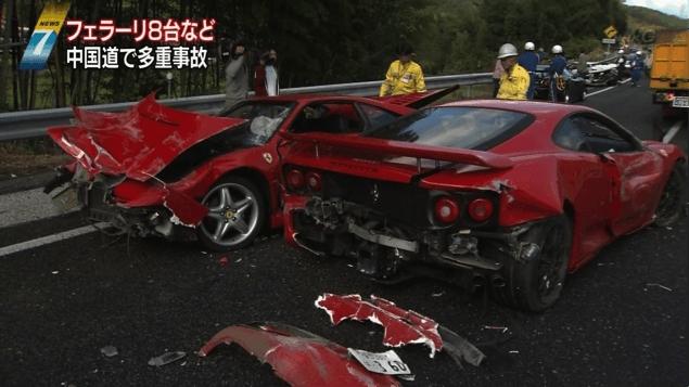 Japanse crash met een hoog prijskaartje