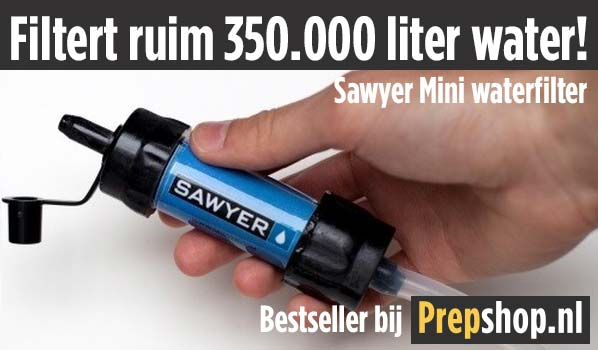 Sawyer Mini SP128 waterfilter bij Prepshop.nl